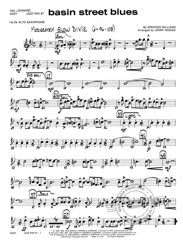 Easy Jazz Ensemble Pak #1 (4)