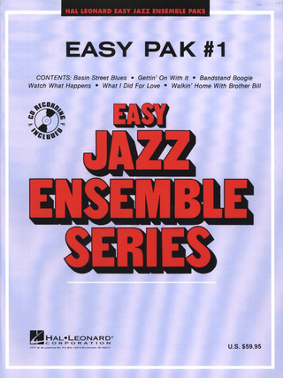 Easy Jazz Ensemble Pak #1