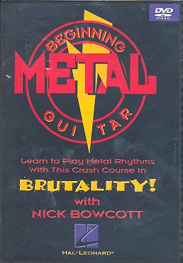Nick Bowcott: Beginning Metal Guitar