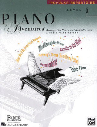 Piano Adventures 5 – Popular Repertoir