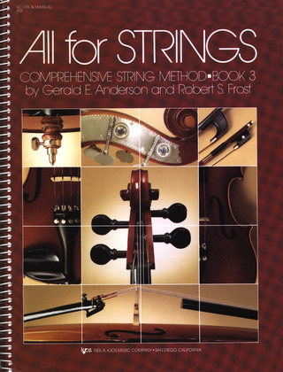 Anderson Gerald E. + Frost Robert S.: All For Strings 3