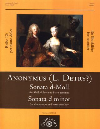 Anonymus: Sonate d-Moll