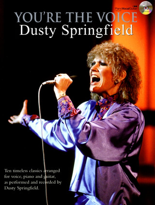 You're The Voice Dusty Springfield Pvg Bk/Cd