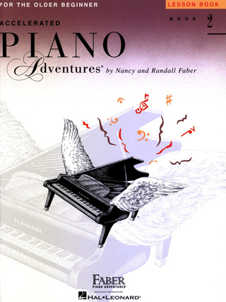 Randall Faber et al.: Accelerated Piano Adventures 2 – Lesson