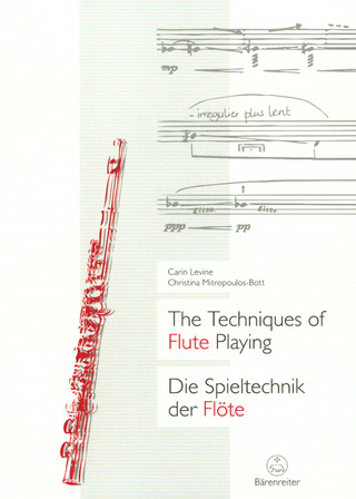 Carin Levine y otros.: The Techniques of Flute Playing I