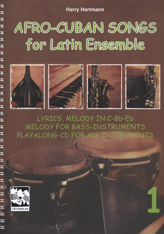Afro-Cuban Songs for Latin-Ensemble