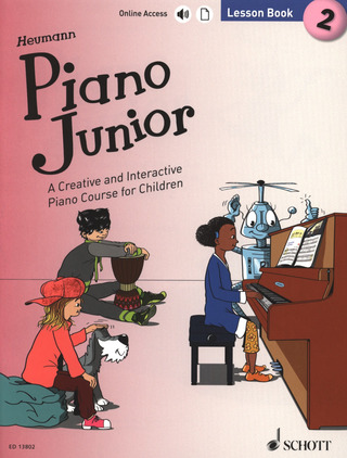 Hans-Günter Heumann: Piano Junior: Lesson Book 2