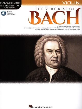 Johann Sebastian Bach: Hal Leonard Instrumental Play-Along: The Very Best of Bach – Violin