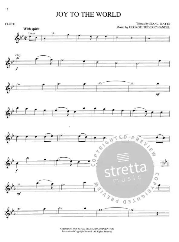 Christmas Carols Flute Buy Now In Stretta Sheet Music Shop