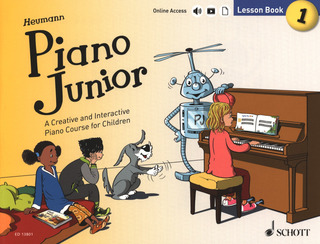 Hans-Günter Heumann: Piano Junior: Lesson Book 1