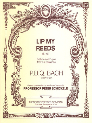P.D.Q. Bach: Lip My Reeds - Prelude + Fugue