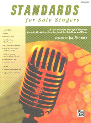 Standards For Solo Singers