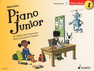 Hans-Günter Heumann: Piano Junior: Theory Book 1