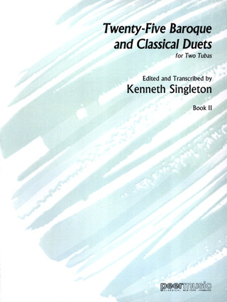 Singleton, Kenneth: 25 Baroque And Classical Duets, II