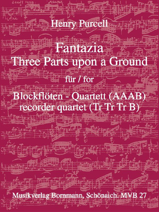 Henry Purcell: Fantazia – Three Parts upon a Ground