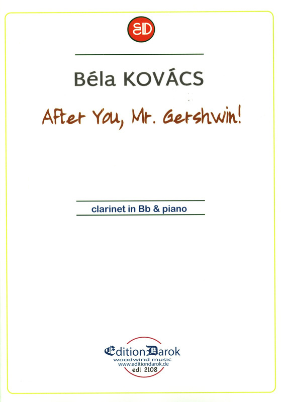 Kovács, Béla: After you, Mr. Gershwin!