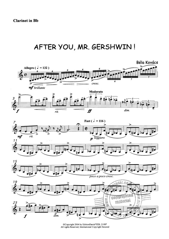 Kovács, Béla: After you, Mr. Gershwin! (3)