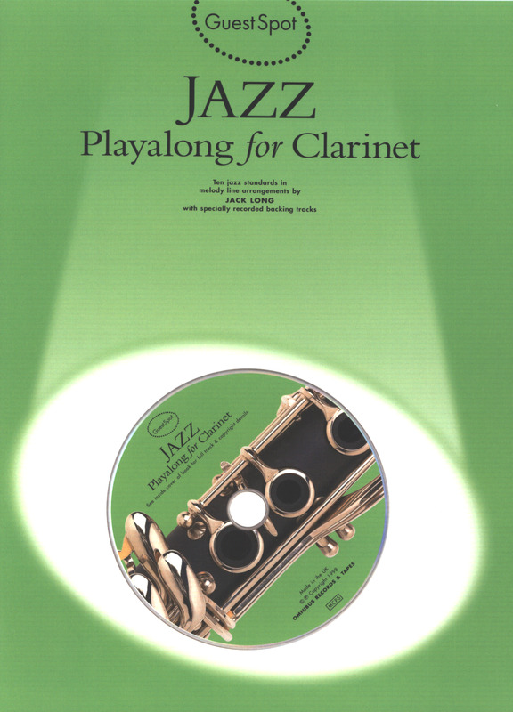 Guest Spot Jazz Playalong For Clarinet Bk/Cd