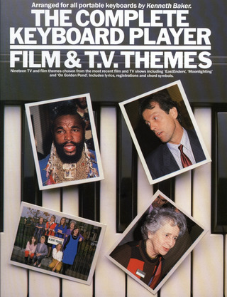 Kenneth Baker: Complete Keyboard Player Film & Tv Themes