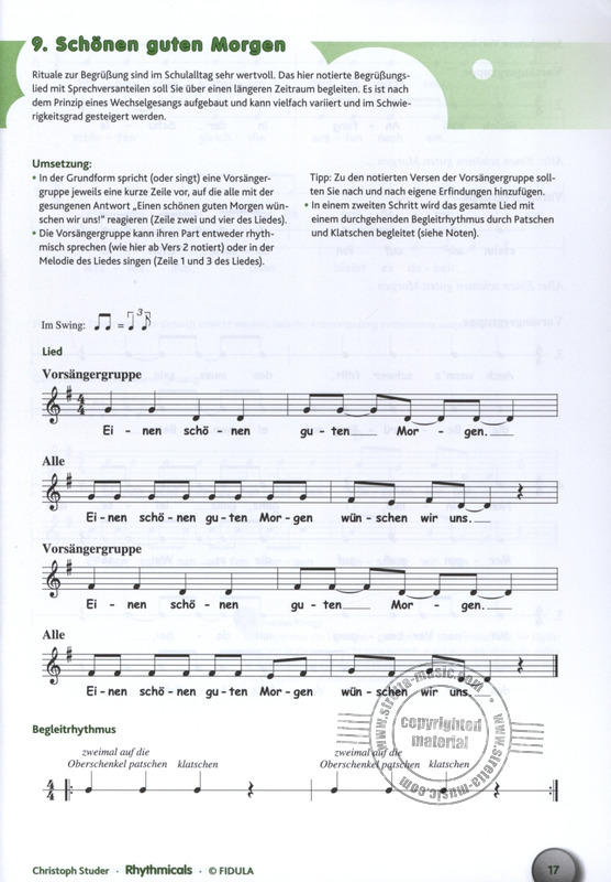 Rhythmicals From Studer Christoph Buy Now In Stretta Sheet