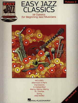 Easy Jazz Play-Along Volume 3: Easy Jazz Classics
