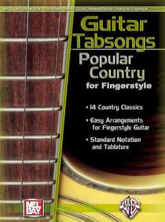 Guitar Tabsongs Popular Country For Fingerstyle
