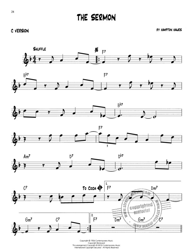 Easy Jazz Play-Along Volume 4: Basic Blues | buy now in