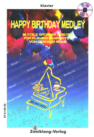 Weihe, Gerhard: Happy Birthday-Medley +CD