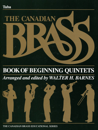 Canadian Brass: Book Of Beginning Quintets