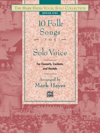 10 Folk Songs For Solo Voice - Medium Low
