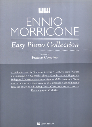 Ennio Morricone: Easy Piano Collection