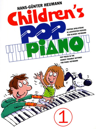 Hans-Günter Heumann: Children's Pop Piano 1