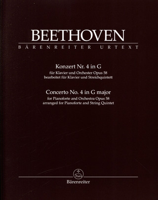 Ludwig van Beethoven: Concerto for Pianoforte and Orchestra no. 4 op. 58