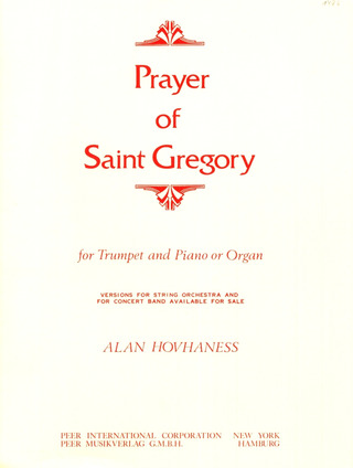 Alan Hovhaness: Prayer of Saint Gregory