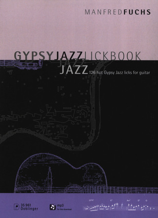 Manfred Fuchs: Gypsy Jazz Lickbook