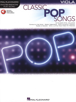 Classic Pop Songs (Viola)