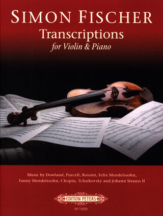 Transcriptions for Violin and Piano 1