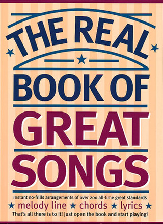The Real Book Of Great Songs