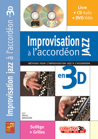 Manu Maugain: Improvisation Jazz à  l'accordéon en 3D