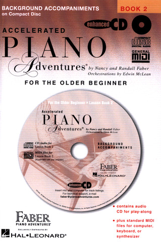Randall Faber et al.: Piano Adventures for the Older Beginner Book 2