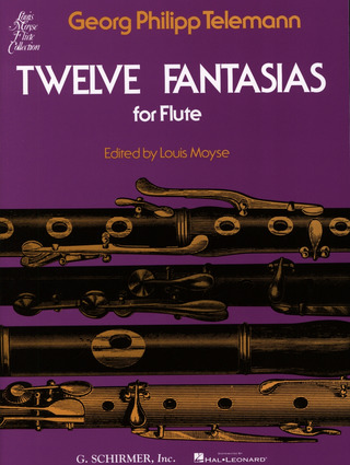 Georg Philipp Telemann: Georg Philipp Telemann: Twelve Fantasies For Solo Flute