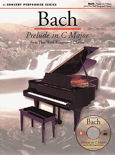 "Johann Sebastian Bach: Prelude C major from ""The Well-Tempered Clavier"""