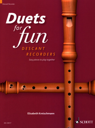 Duets for fun: Descant Recorders