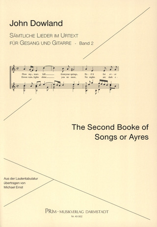 John Dowland: Second Book Of Songs And Ayres