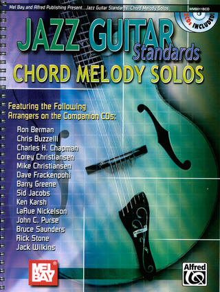 Jazz Guitar Standards – Chord Melody Solos
