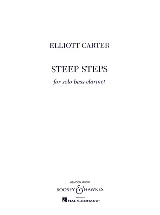 Elliott Carter: Steep Steps