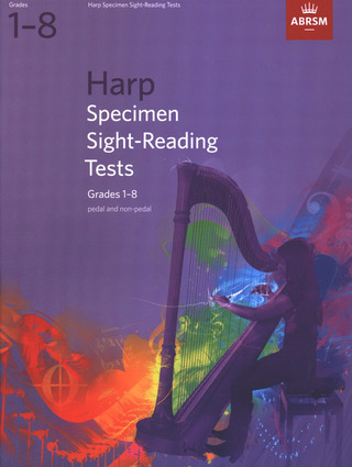 Specimen Sight-Reading Tests for Harp Grades 1-8 (pedal and non-pedal)