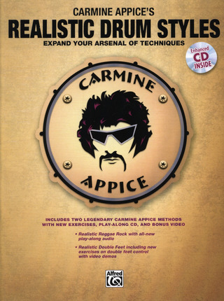 Carmine Appice: Realistic Drum Styles