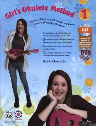 Tish Ciravolo: Girl's Ukulele Method 1