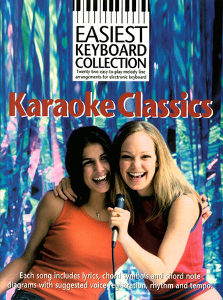 Burger + Mueller: Easiest Keyboard Collection: Karaoke Hits Kbd Book
